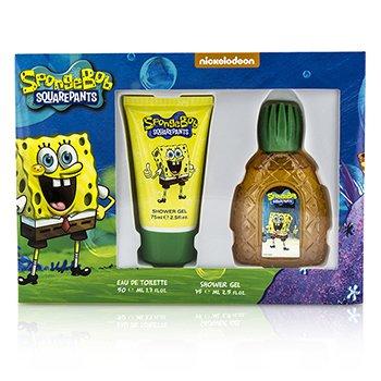 Spongebob Squarepants Spongebob Coffret: Eau De Toilette Spray 50ml/1.7oz + Shwoer Gel 75ml/2.5oz  2pcs