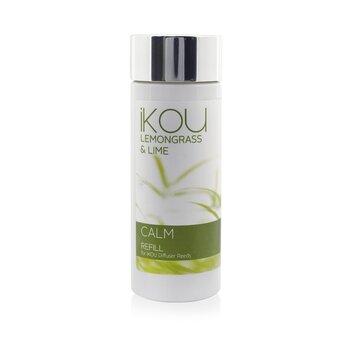 iKOU Diffuser Reeds Refill - Calm (Lemongrass & Lime)  125ml/4.22oz