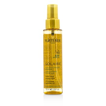 Rene Furterer Solaire Waterproof KPF 90 Protective Summer Oil - Shiny Effect (High Protection For Hair Exposed To The Sun)  100ml/3.38oz