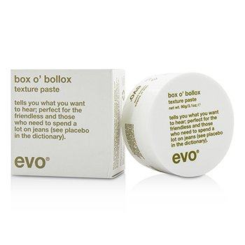 Evo Box O' Bollox Texture Paste (For All Hair Types, Especially Short, Textured Haircuts)  90g/3.1oz