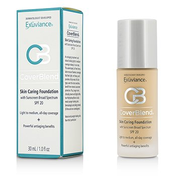 Exuviance  CoverBlend Skin Caring Foundation SPF20 - # Blush Beige  30ml/1oz