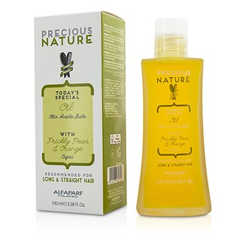 AlfaParf Precious Nature Today's Special Oil with Prickly Pear & Orange (For Long & Straight Hair)  100ml/3.38oz