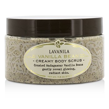 Lavanila Laboratories Creamy Body Scrub - Vanilla Bean  212g/7.5oz
