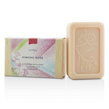 Thymes Kimono Rose Luxurious Bath Soap  170g/6oz