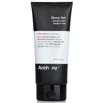Anthony Logistics For Men Shave Gel (Sensitive Skin)  177ml/6oz