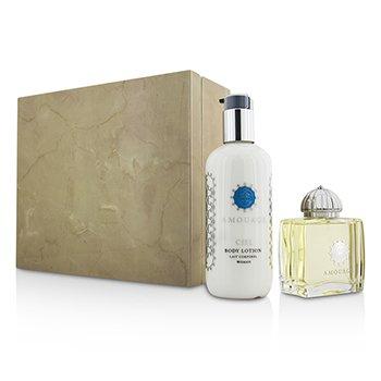 Amouage Ciel Coffret: Eau De Parfum Spray 100ml/3.4oz + Body Lotion 300ml/10oz  2pcs