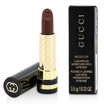 Gucci Luxurious Moisture Rich Lipstick  - #520 Wild Amarena  3.5g/0.12oz