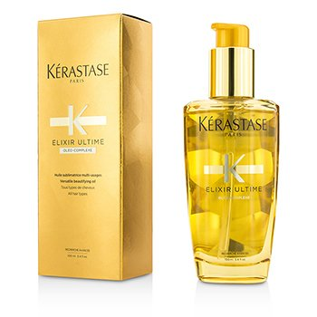 Kerastase Elixir Ultime Oleo-Complexe Versatile Beautifying Oil (For All Hair Types)  100ml/3.4oz