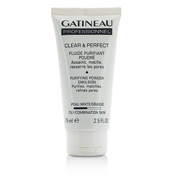 Gatineau Clear & Perfect Purifying Powder Emulsion (For Oily/Combination Skin) (Salon Size)  75ml/2.5oz