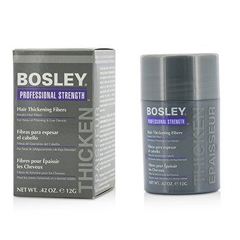 Bosley Professional Strength Hair Thickening Fibers - # Medium Brown  12g/0.42oz