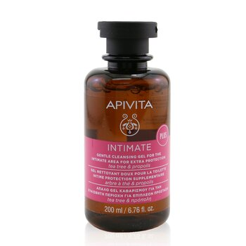 Apivita Intimate Gentle Cleansing Gel For The Intimate Area For Extra Protection with Tea Tree & Propolis  200ml/6.8oz