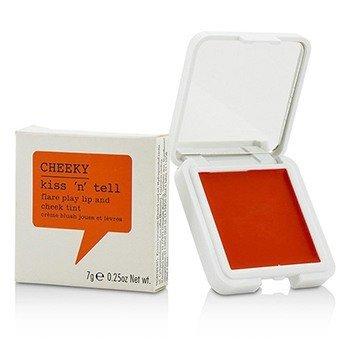 Cheeky Kiss N Tell Lip And Cheek Tint - Flare Play  7g/0.25oz