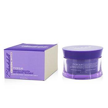 Keratin Complex Blondeshell Masque (Debrass & Brighten Deep Keratin Treatment)  200ml/6.7oz