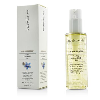 BareMinerals Oil Obsessed Total Cleansing Oil  180ml/6oz
