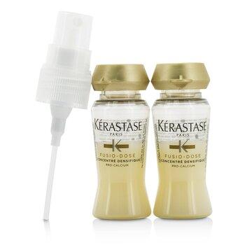 Kerastase Fusio-Dose Concentre Densifique Intensive Bodifying Care (Fine or Thinning Hair)  10x12ml/0.4oz