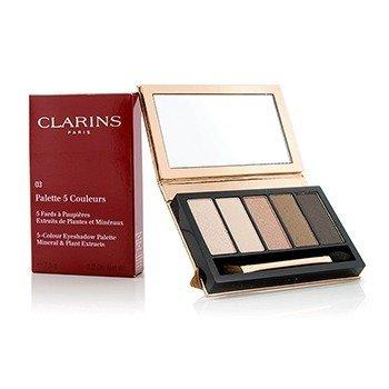 Clarins 5 Colour Eyeshadow Palette - #03 Natural Glow  7.5g/0.2oz