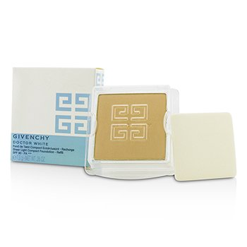 Givenchy Doctor White Sheer Light Compact Foundation SPF 30 Refill - # 4 Honey Light  7.5g/0.26oz