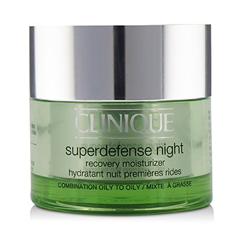Clinique Superdefense Night Recovery Moisturizer - For Combination Oily To Oily  50ml/1.7oz