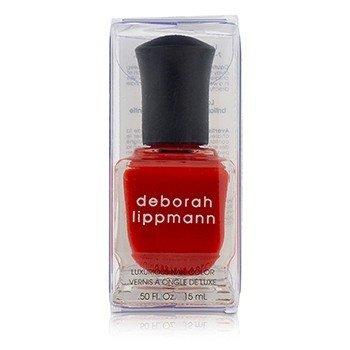 Deborah Lippmann Luxurious Nail Color - Footloose (Rebellious Red Creme)  15ml/0.5oz