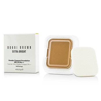 Bobbi Brown Extra Bright Powder Compact Foundation SPF 25 Refill - #4.5 Warm Natural  13g/0.45oz