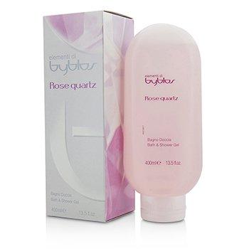 Byblos Rose Quartz Bath & Shower Gel  400ml/13.5oz