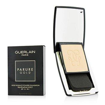 Guerlain Parure Gold Rejuvenating Gold Radiance Powder Foundation SPF 15 - # 02 Beige Clair  10g/0.35oz