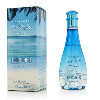 Davidoff Cool Water Exotic Summer Eau De Toilette Spray (Limited Edition)  100ml/3.4oz