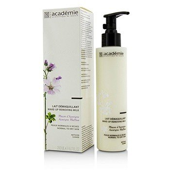 Academie Aromatherapie Make-Up Removing Milk - For Normal To Dry Skin  200ml/6.7oz