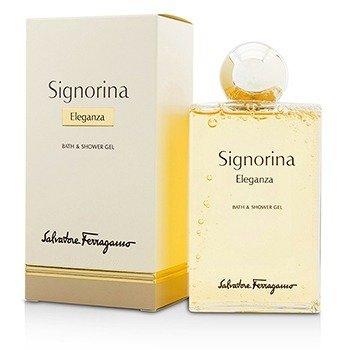 Salvatore Ferragamo Signorina Eleganza Bath & Shower Gel  200ml/6.8oz