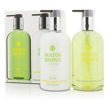 Molton Brown Puritas Hand Care Set: Fine Liquid Hand Wash 300ml/10oz + Soothing Hand Lotion 300ml/10oz  2pcs