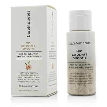 BareMinerals Mix. Exfoliate. Smooth. Add-To-Cleanser Skin Polishing Grains  25g/0.88oz