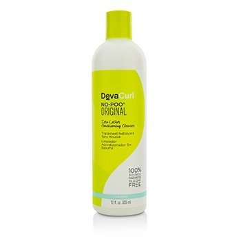 DevaCurl No-Poo Original (Zero Lather Conditioning Cleanser - For Curly Hair)  355ml/12oz