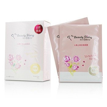 My Beauty Diary Mask - Damask Rose (Lightening & Hydrating)  8pcs