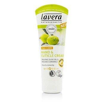 Lavera Organic Olive Oil & Camomile 2 In 1 Care Hand And Cuticle Cream 61947/107086  75ml/2.5oz