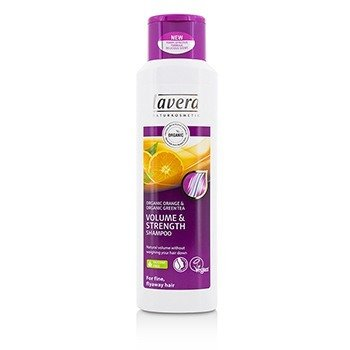 Lavera Organic Orange & Organic Green Tea Volume & Strength Shampoo (For Fine, Flyaway Hair)  250ml/8.3oz