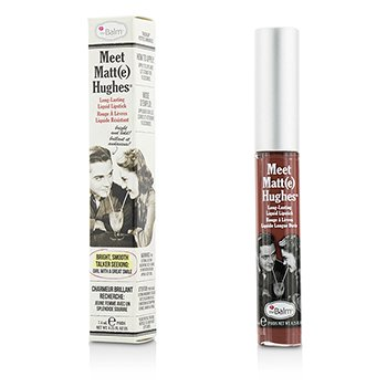 TheBalm Meet Matte Hughes Long Lasting Liquid Lipstick - Charming  7.4ml/0.25oz