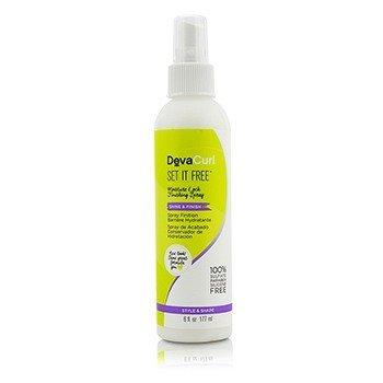 DevaCurl Set It Free (Moisture Lock Finishing Spray - Shine & Finish)  177ml/6oz