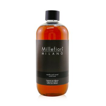 Millefiori Natural Fragrance Diffuser Refill - Vanilla & Wood  500ml/16.9oz