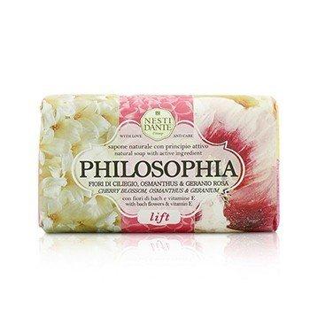 Nesti Dante Philosophia Natural Soap - Lift - Cherry Blossom, Osmanthus & Geranium With Bach Flowers & Vitamin E  250g/8.8oz