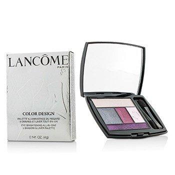 Lancome Color Design 5 Shadow & Liner Palette - # 315 Rose Tempete  4g/0.141oz