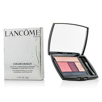Lancome Color Design 5 Shadow & Liner Palette - # 213 Rosy Flush (US Version)  4g/0.141oz