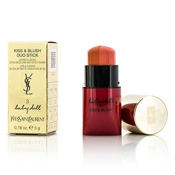 Yves Saint Laurent Baby Doll Kiss & Blush Duo Stick - # 3 From Cute to Devilish  5g/0.18oz