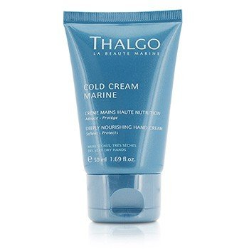 Thalgo Cold Cream Marine Deeply Nourishing Hand Cream - For Dry, Very Dry Hands  50ml/1.69oz