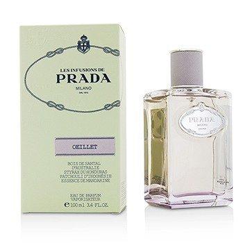 Prada Les Infusions Oeillet Eau De Parfum Spray  100ml/3.4oz
