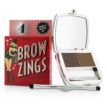 Benefit Brow Zings (Total Taming & Shaping Kit For Brows) - #4 (Medium)  4.35g/0.15oz