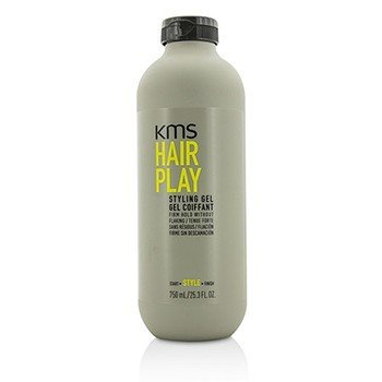KMS California Hair Play Styling Gel (Firm Hold Without Flaking) 137004  750ml/25.3oz
