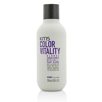 KMS California Color Vitality Blonde Conditioner (Anti-Yellowing and Repair)  250ml/8.5oz