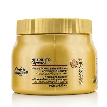 L'Oreal Professionnel Expert Serie - Nutrifier Glycerol  Silicone-Free Melting Masque - Rinse Out (For Dry,  500ml/16.9oz