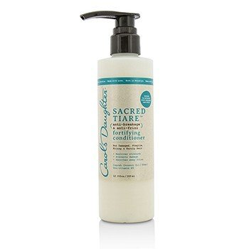 Carol's Daughter Sacred Tiare Anti-Breakage & Anti-Frizz Fortifying Conditioner (For Damaged, Fragile, Frizzy & Unruly Hair)  355ml/12oz