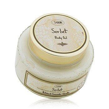 Sabon Sorbet Body Gel - Patchouli Lavender Vanilla  200ml/7oz